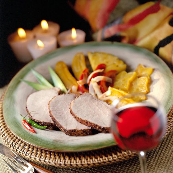 Caribbean Roast Pork