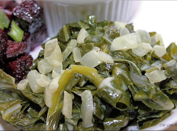 Creamy Coconut Collard Greens Recipe