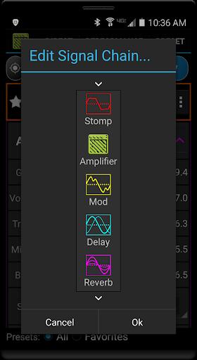 Remuda Lite - USB Guitar Amplifier Control App 1.8.4-lite screenshots 5