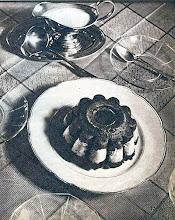 Photo: Hercegnőkrém: egy formában fagyasztott csokoládé- és vaníliakrém. - Krem czekoladowo-waniliowy.