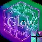 GlowPurple Next Launcher Theme Icon