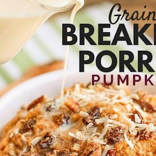 Grain-Free Pumpkin Pie Breakfast Porridge