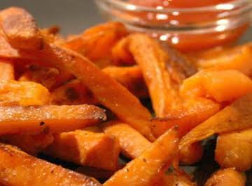 Crispy Sweet Potato Fries (Weight Watchers)