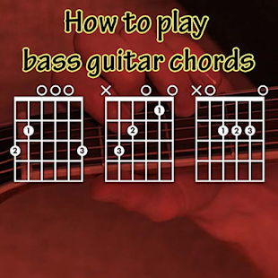 How to play bass guitar chords - náhled