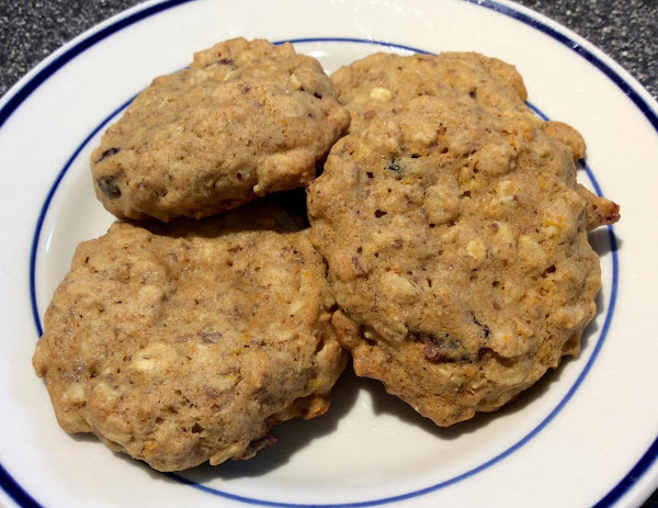Agave Oatmeal Cookies Recipe