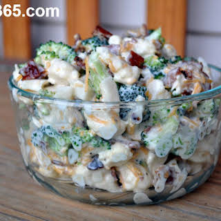 Amish Broccoli Salad.