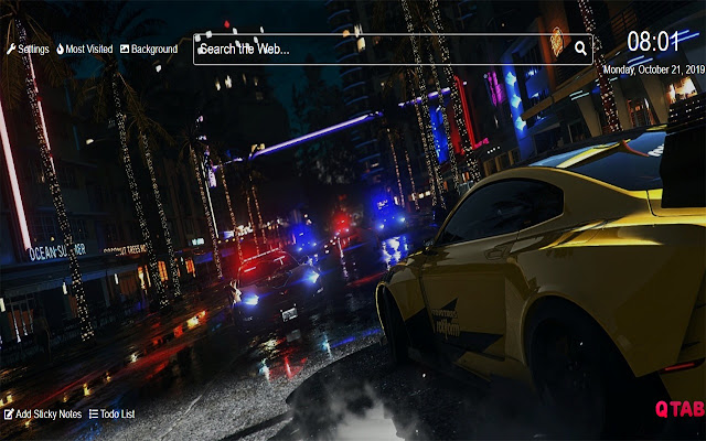 Need For Speed Heat Wallpapers For New Tab