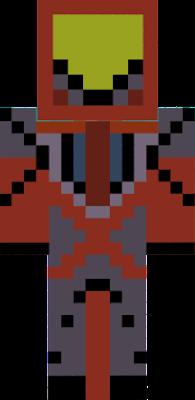 James's armour man