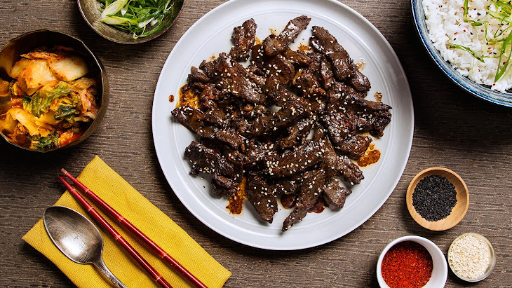 Bulgogi (Korean BBQ Beef) Recipe | Yummly