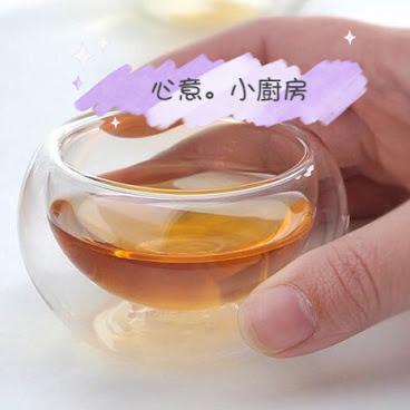 雙層圓形玻璃杯 (代購)