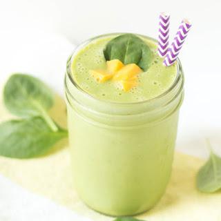 Green Mango Kefir Smoothie