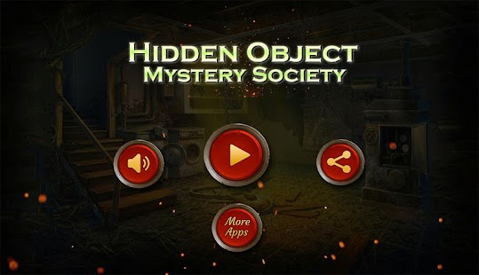 Hidden Object Mystery Society - náhled