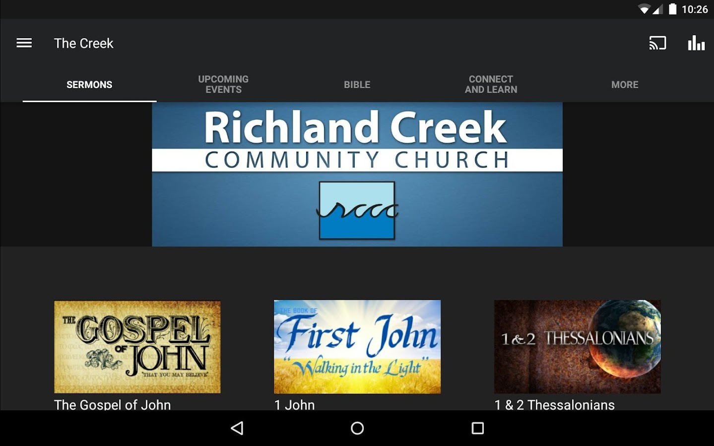 Richland Creek- screenshot