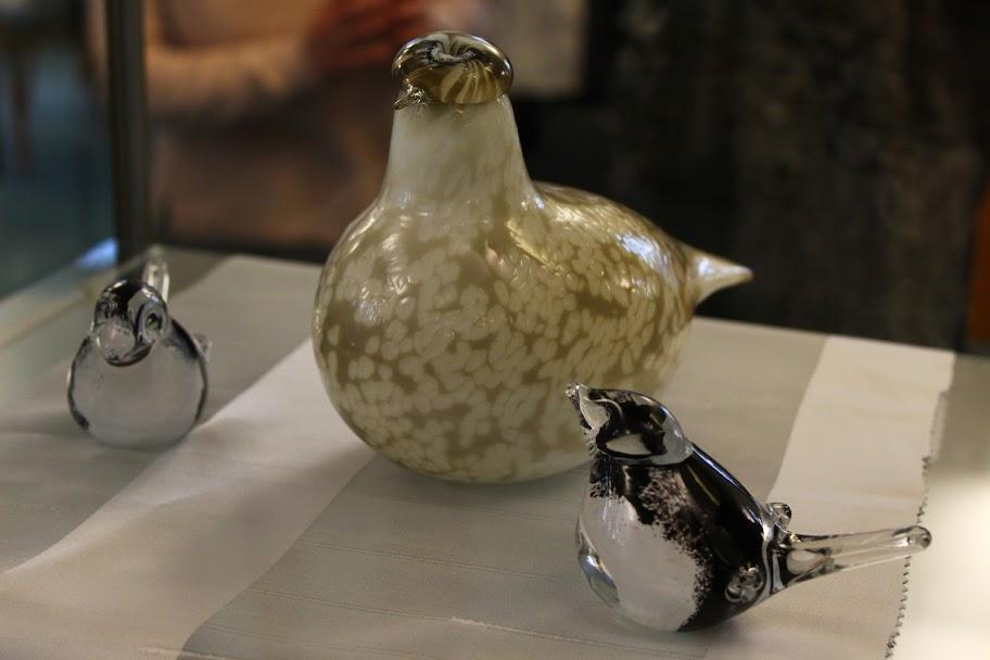 Finn üvegművészet kiállítás