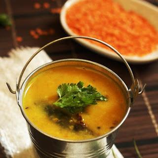 Simple Masoor Dal Recipe-how to make masoor dal.