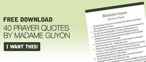 Madame Guyon's Quotes on Prayer