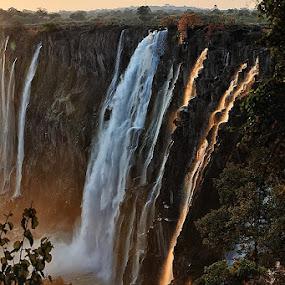 Victoria falls by Bostjan Pulko - Landscapes Travel ( victoria falls, zambia )