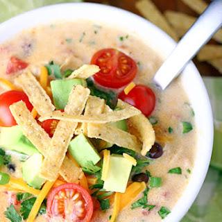 Creamy Chicken Tortilla Soup.