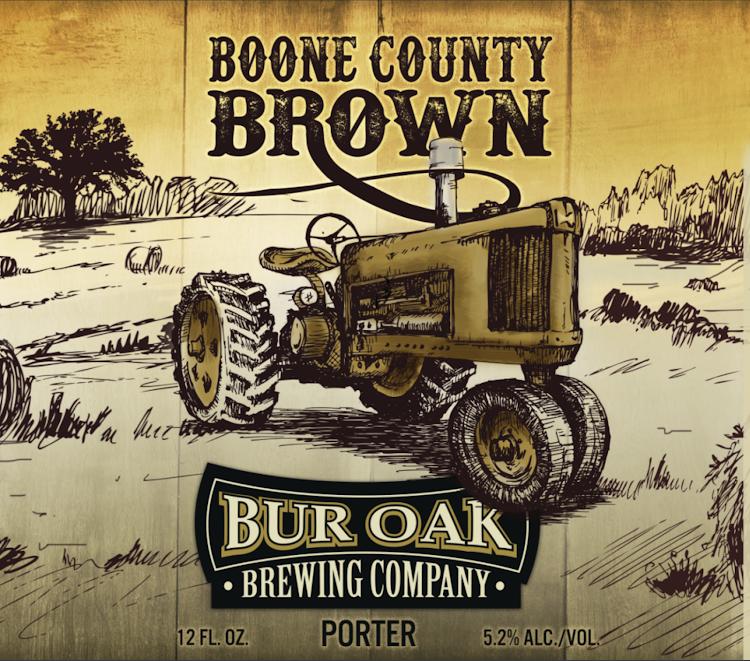 Logo of Bur Oak Boone County Brown
