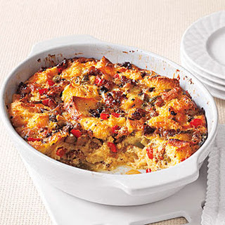 Sausage, Egg and Vegetable Casserole.