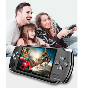Consola de jocuri video, ecran 4.3 inch, capacitate 5 ore
