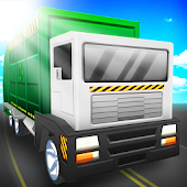 Blocky Garbage Truck Simulator