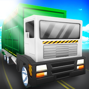 Blocky Garbage Truck Simulator for PC and MAC