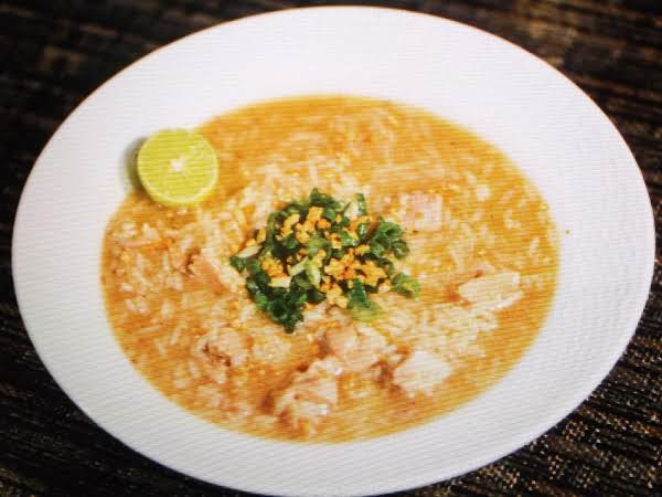 Southwesterly Breezes Grilled Chicken Soup