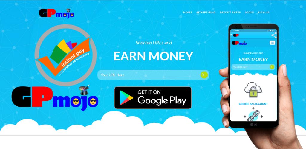 Download GPmojo Official App - Earn Money on Shorten Link's