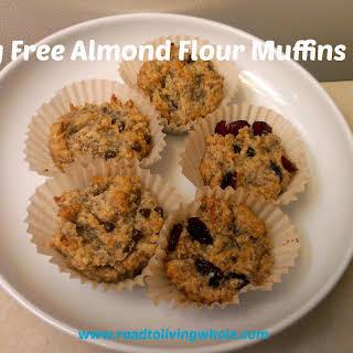 Egg Free Almond Flour Muffins.
