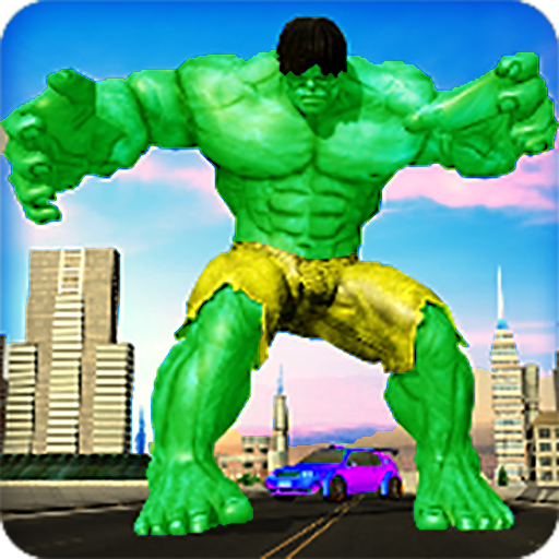 Incredible monster grand superhero city battle (game)