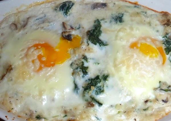 Baked Eggs Florentine -weight Watchers Recipe