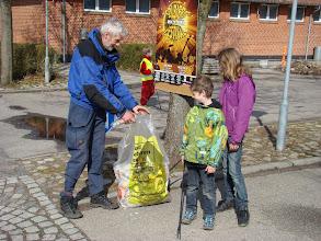 Photo: Affaldsindsamling ved Malling Skole