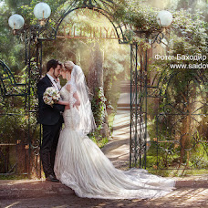 Свадебный фотограф Баходир Саидов (Saidov). Фотография от 06.05.2016