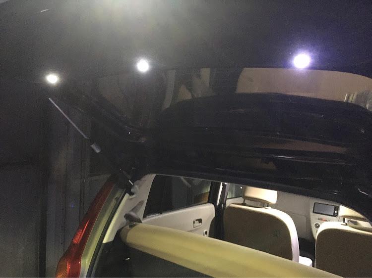 ミラ L275Sのオートファッション世代,LEDスポット,DIY,ドアノブLED,トランク照明に関するカスタム&メンテナンスの投稿画像5枚目
