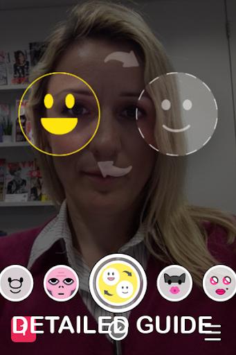 Face Swap lenses For snapchat screenshot
