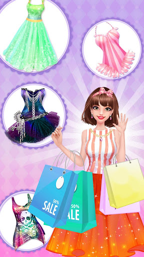 Fashion Shop - Girl Dress Up apkpoly screenshots 7
