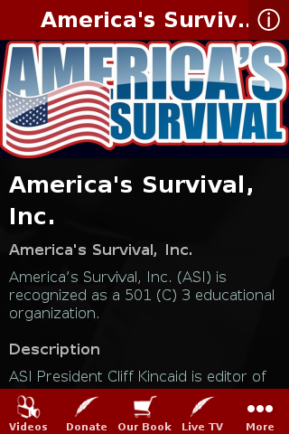 America's Survival- screenshot