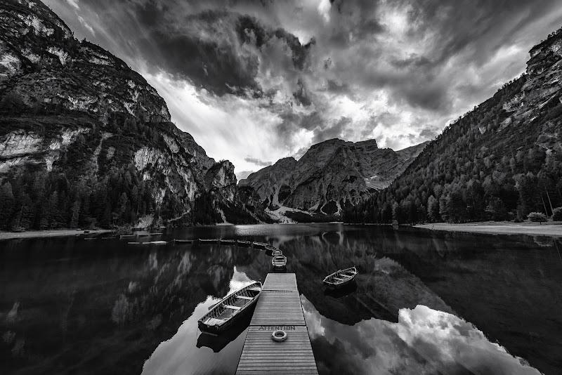 Braies reflections di Marco Tagliarino