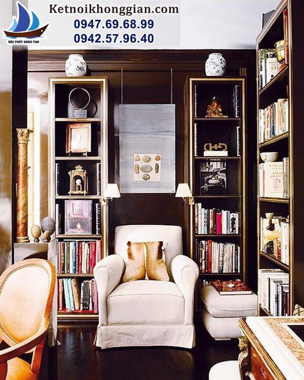 phương thiết kế phòng đọc sách gia đình tốt nhất
