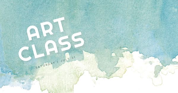 One Day Art Class - Facebook Event Cover Template