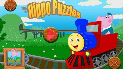 赤ちゃんのパズル:列車
