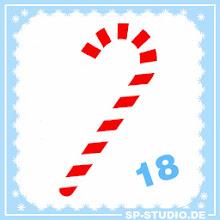 Photo: www.sp-studio.de Christmas Special, day 18: a candy cane