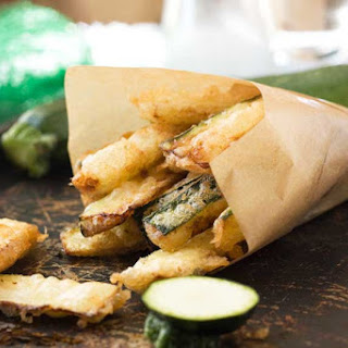 Fried Zucchini Without Eggs Recipes.