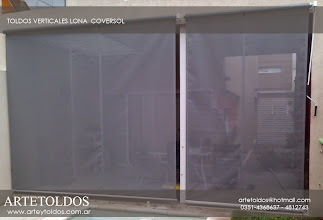 Photo: toldos verticales de coversol