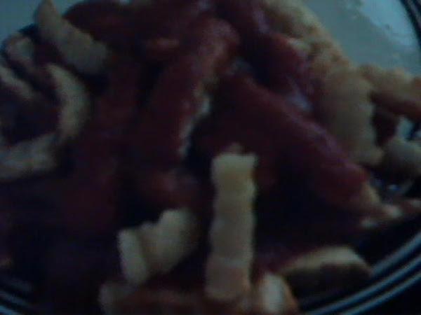 Tammi's Sausage Sauce Fries Recipe