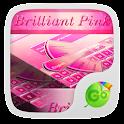 Brilliant Pink Keyboard Theme icon