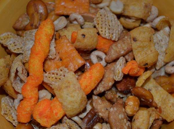 A Huge Batch Of Awesome Snack Mix Recipe