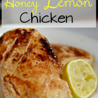 Honey Lemon Chicken.