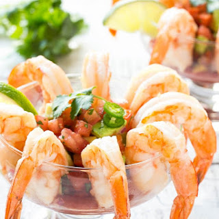Mexican Shrimp Cocktail (Coctel de Camarones)